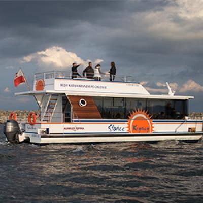 Imprezy na wodzie statki katamaran